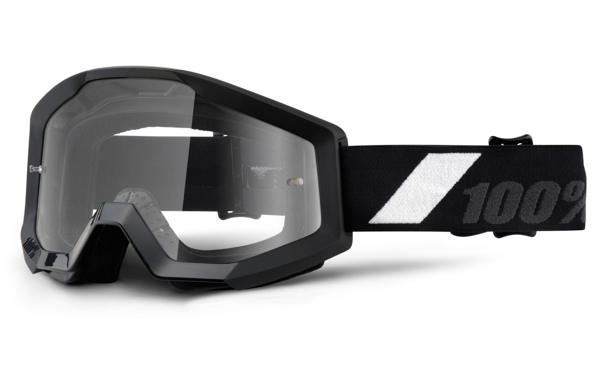 masque 100 strata goliath noir ecran transparent. Black Bedroom Furniture Sets. Home Design Ideas