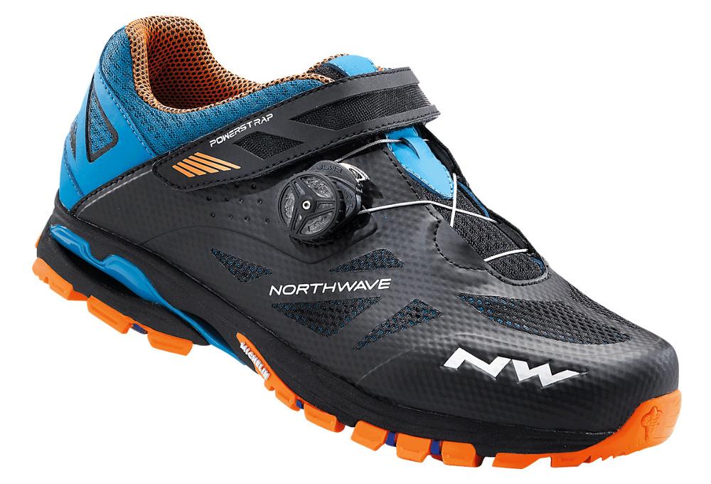 9fb5a035dbd Paire de Chaussures VTT Northwave Spider Plus 2 Noir Orange ...