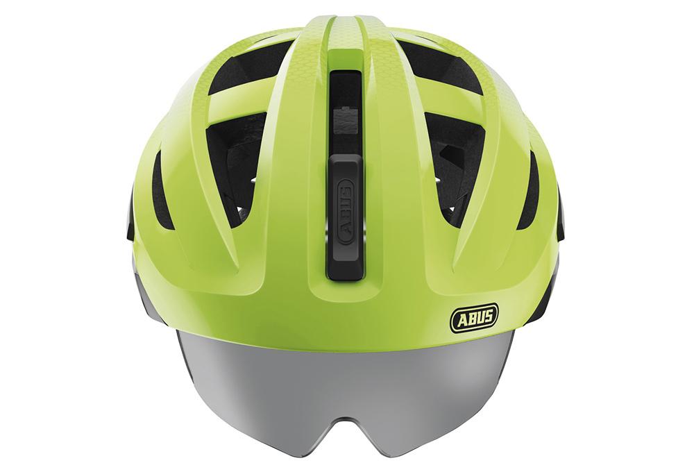 abus in vizz ascent helmet black green. Black Bedroom Furniture Sets. Home Design Ideas