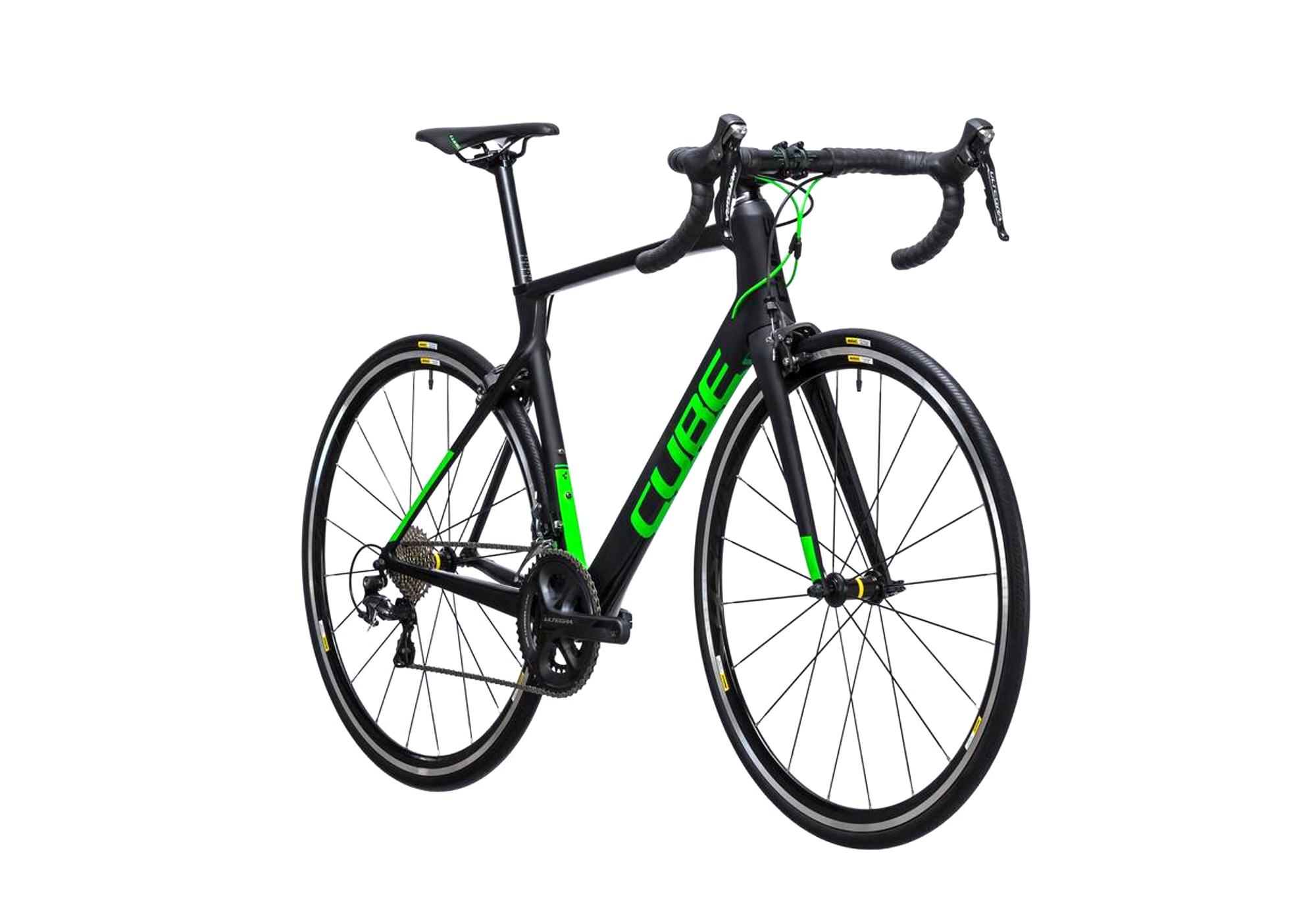 f6dee650b944f4 Vélo de Route Cube Agree C62 Pro Shimano Ultegra 11V 2017 Noir   Noir   Gris