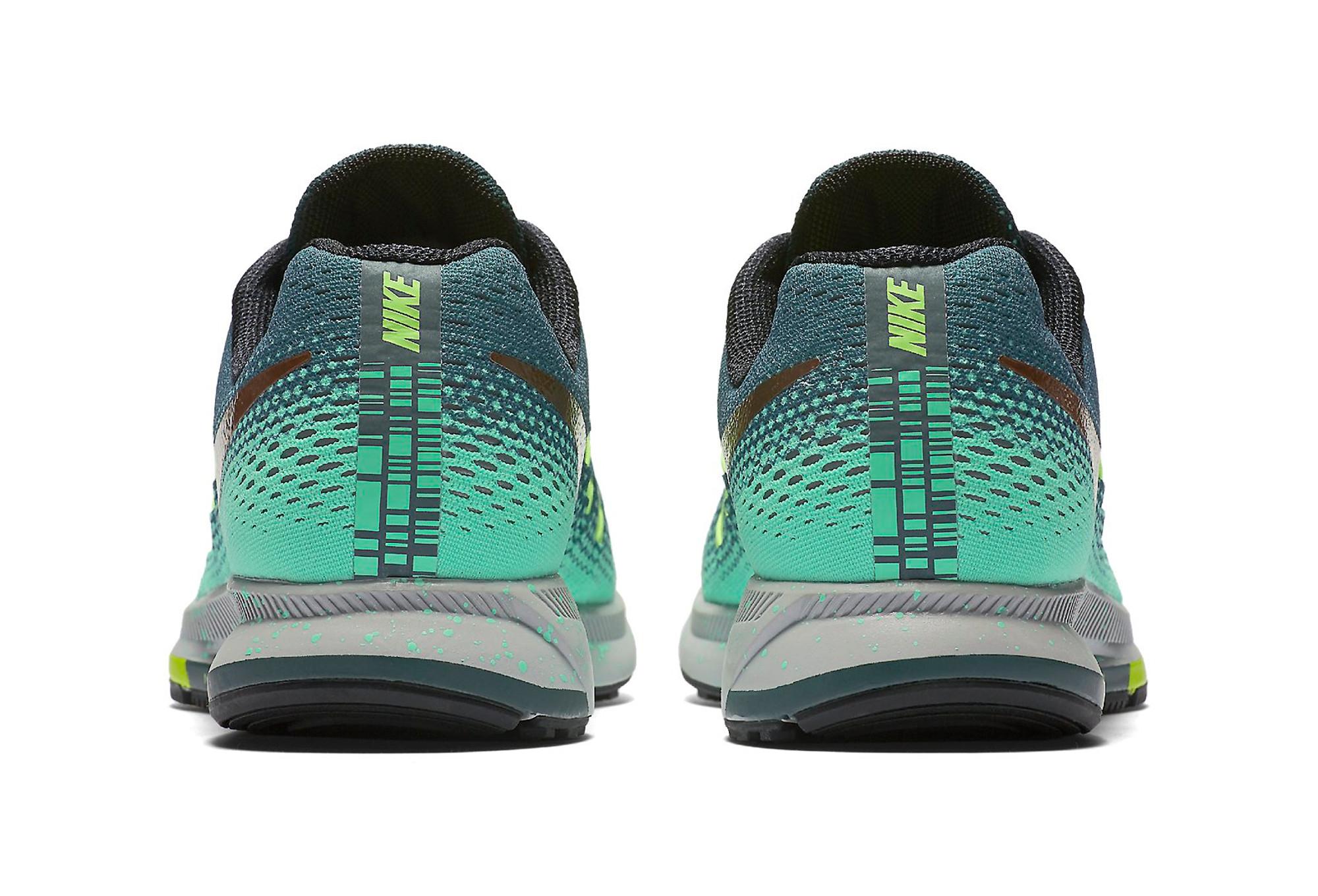 low priced 39c58 8ee7c Chaussures de Running Femme Nike AIR ZOOM PEGASUS 33 SHIELD Vert