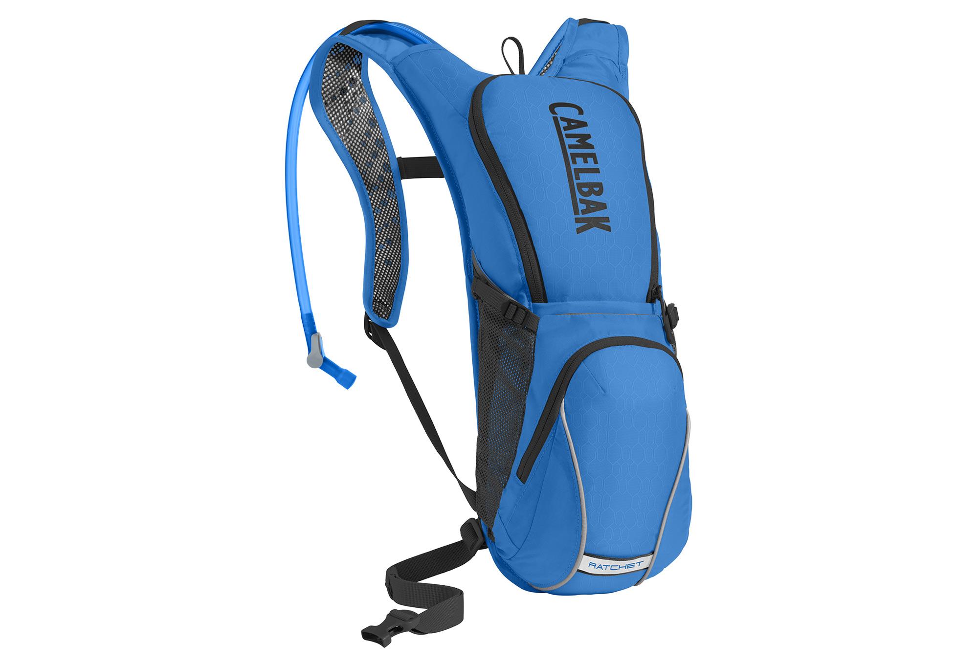fb7b42e5d8a Camelbak Ratchet Hydration Backpack 3L Blue Black | Alltricks.com