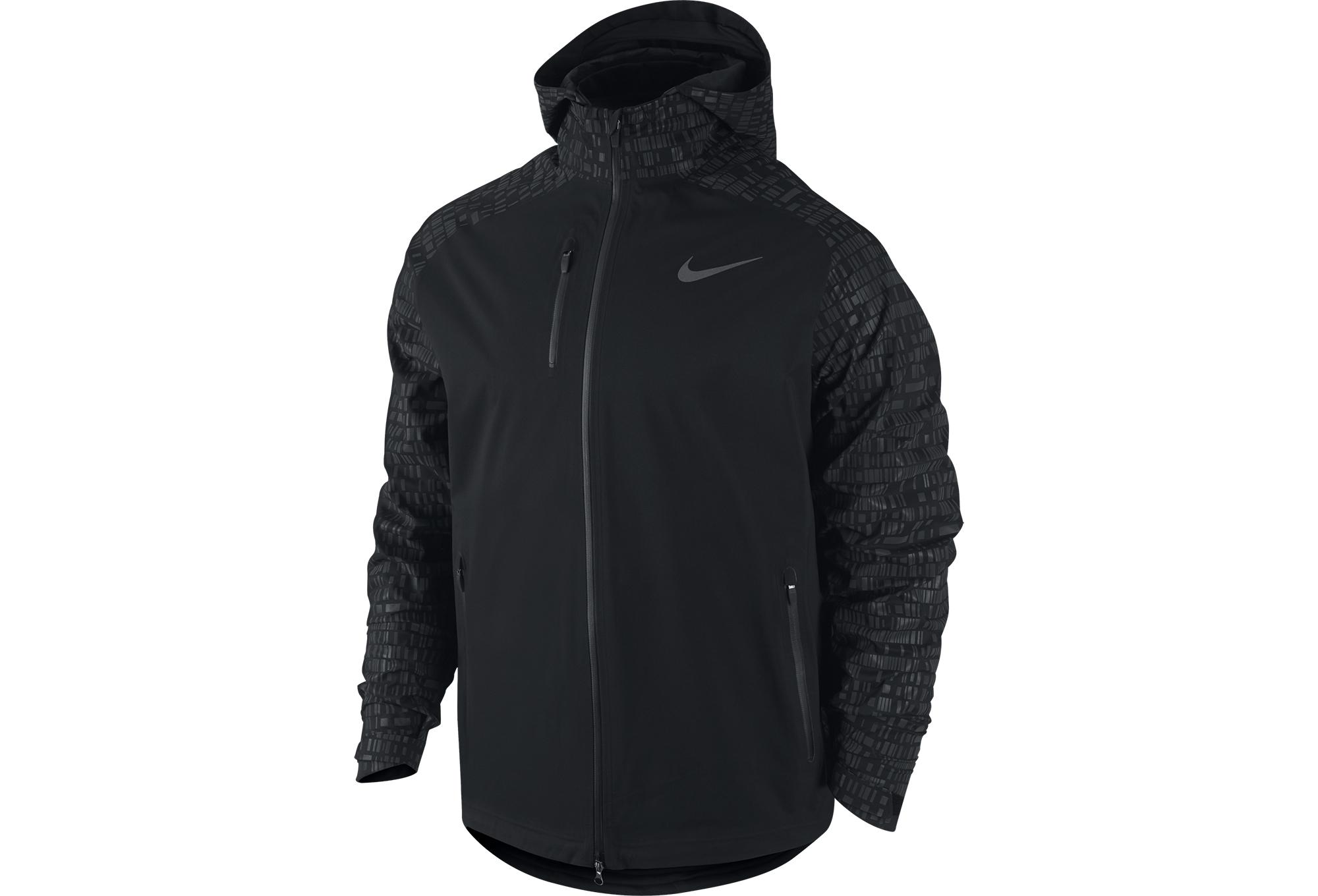 Noir Nike Imperméable Homme Hypershield Veste Flash fUFTw