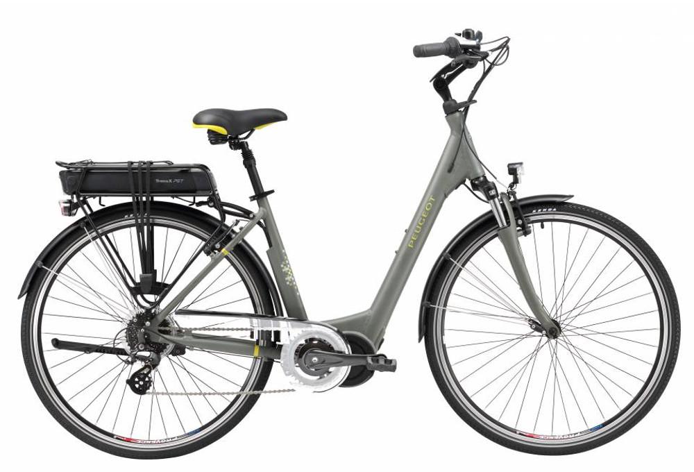 peugeot ec 02 d8 electric city bike 300wh shimano altus 8s. Black Bedroom Furniture Sets. Home Design Ideas
