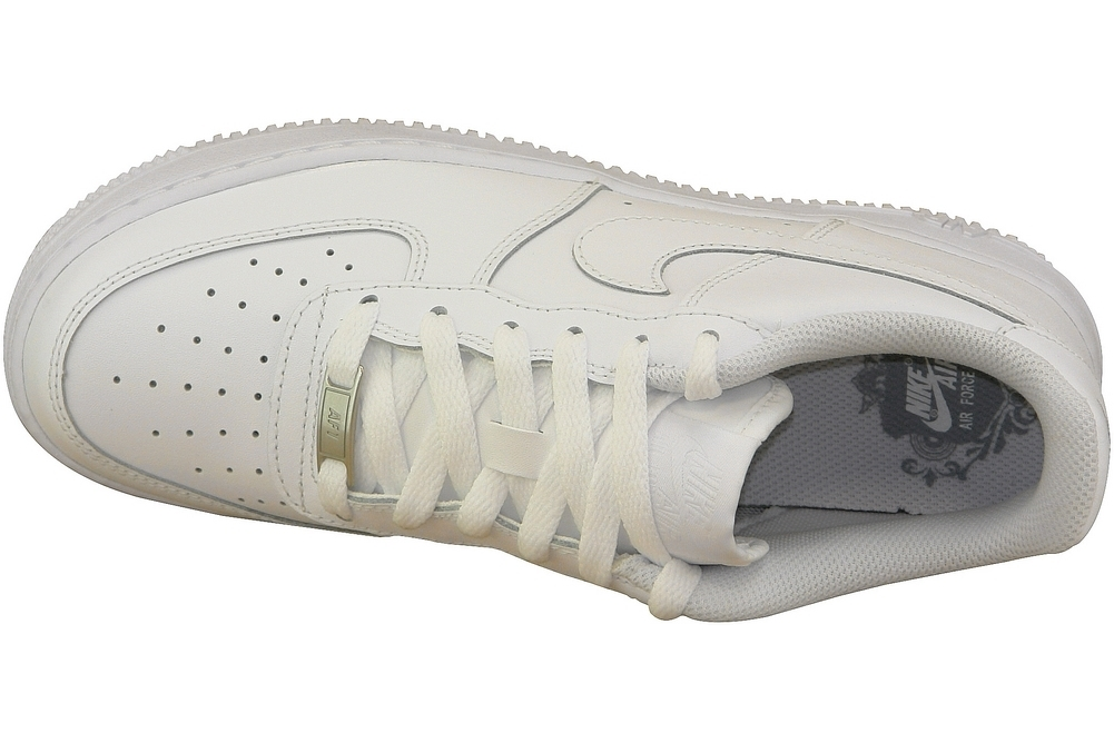 new concept 28123 7b702 Nike Air force 1 Gs 314192-117 Blanc