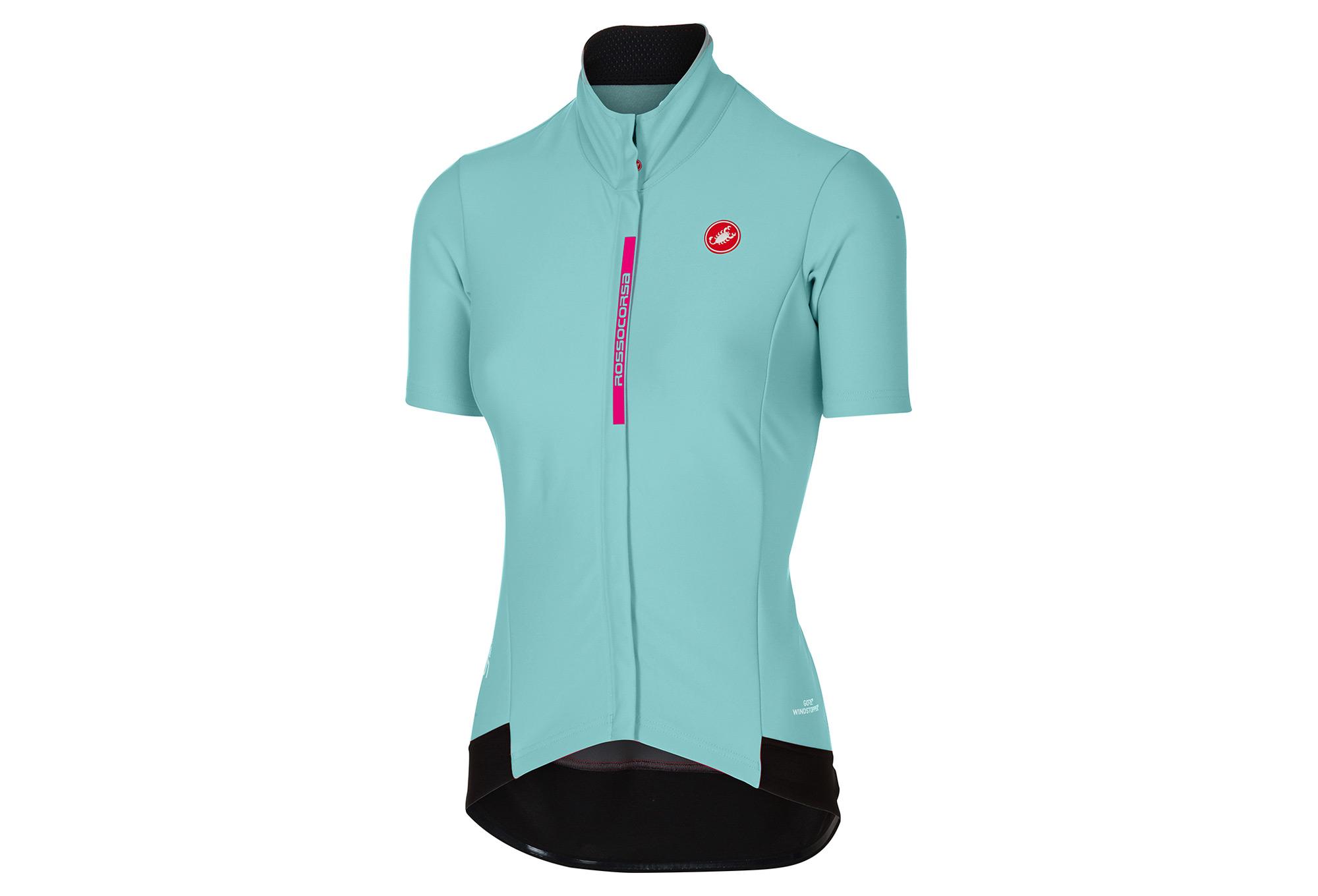 CASTELLI GABBA 2 Women s Short Sleeves Jersey Blue  7c4b05969