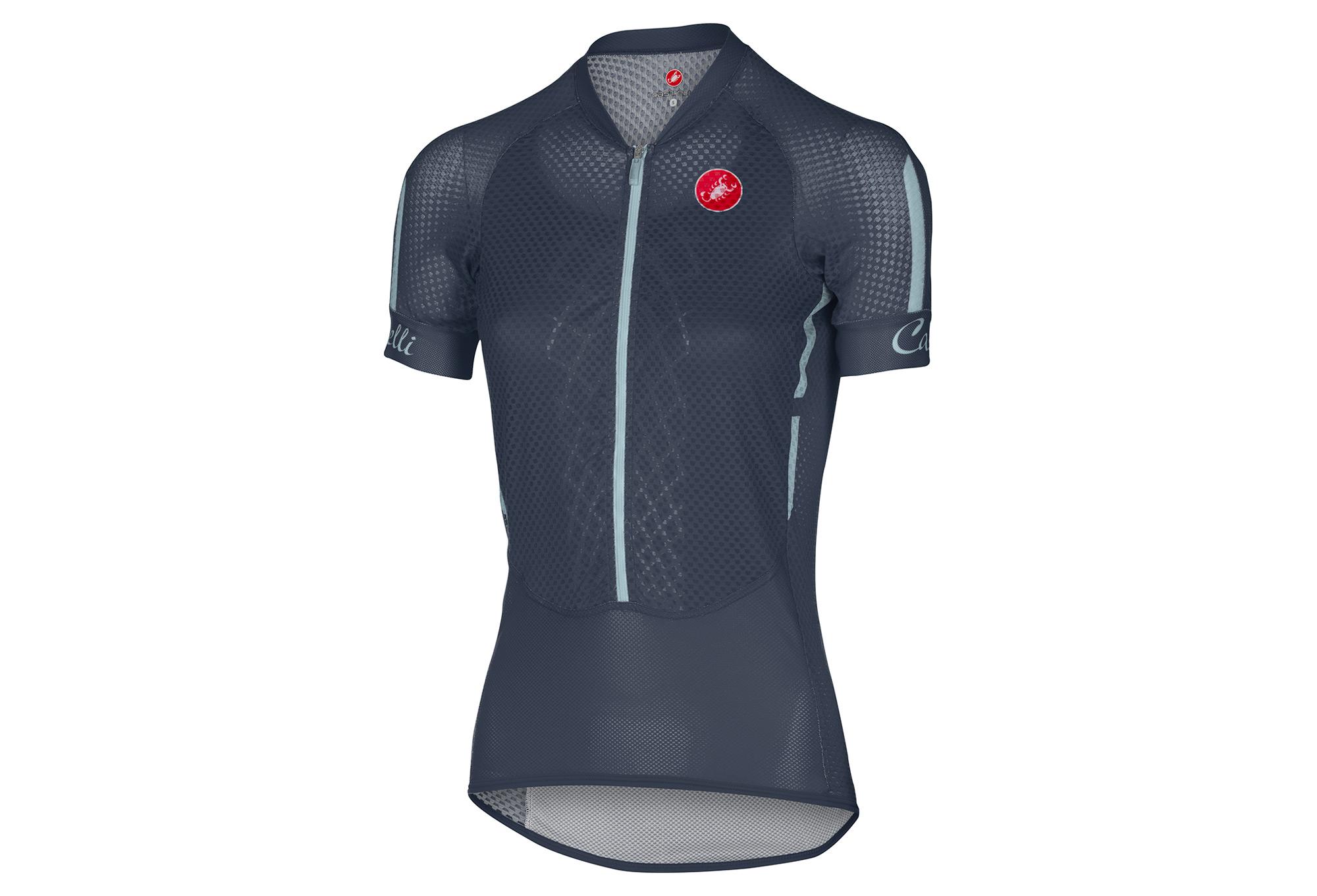 CASTELLI CLIMBER S 2.0 Women s Short Sleeves Jersey Blue  fae3ff62d