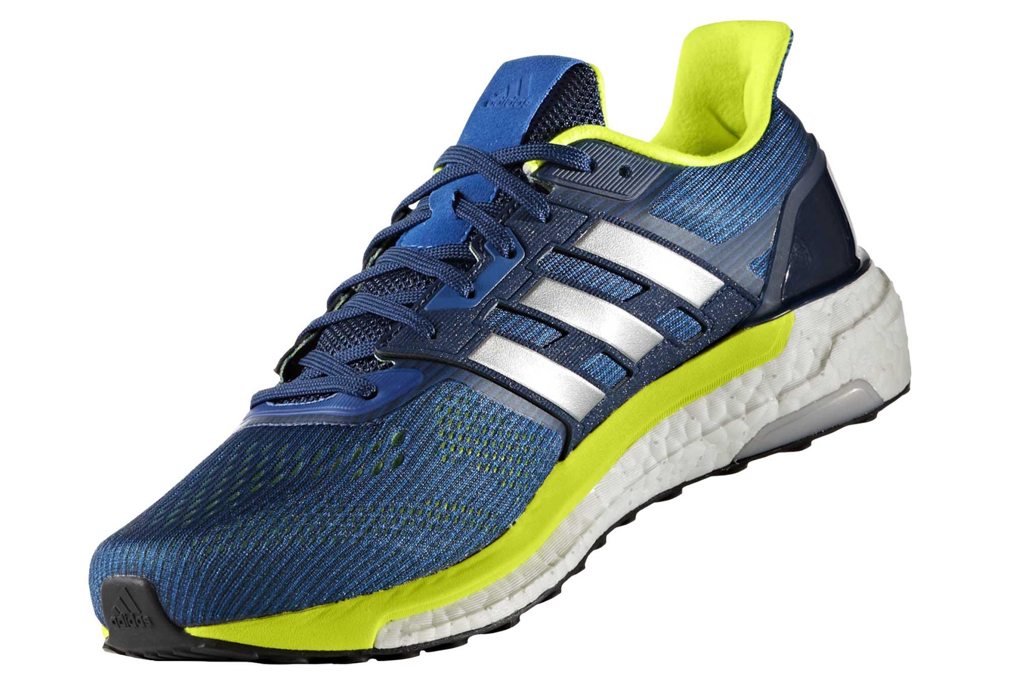 new concept dd59f fad28 Chaussures de Running adidas running Supernova Jaune   Bleu