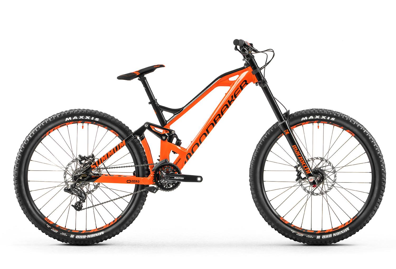 Dh bike mondraker 2017 summum sram x7 9s orange black - Dessin velo vtt ...