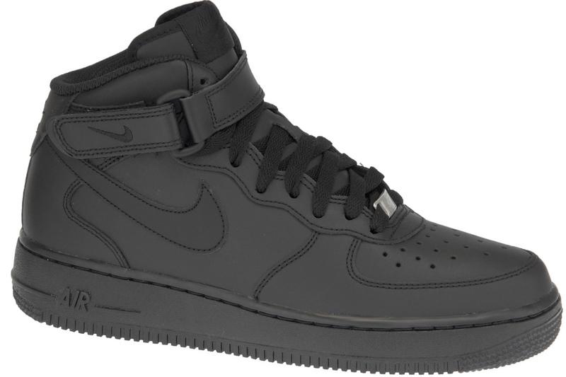 lowest price 4e903 359da Nike Air Force 1 MID Gs 314195-004 Noir   Alltricks.com