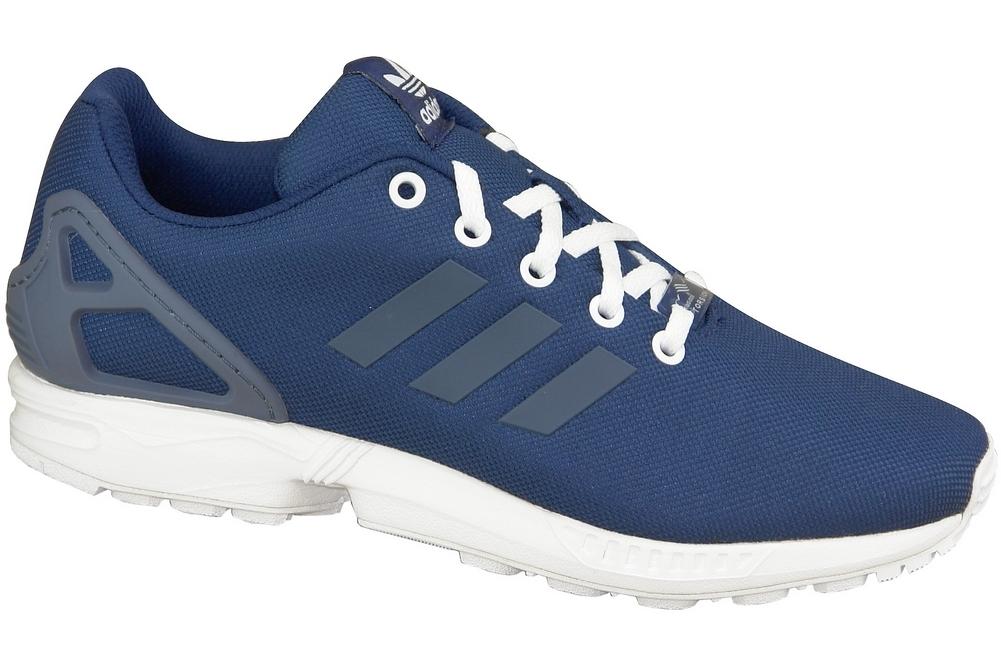 San Francisco f15fe a86f6 Adidas ZX Flux B25637 Bleu