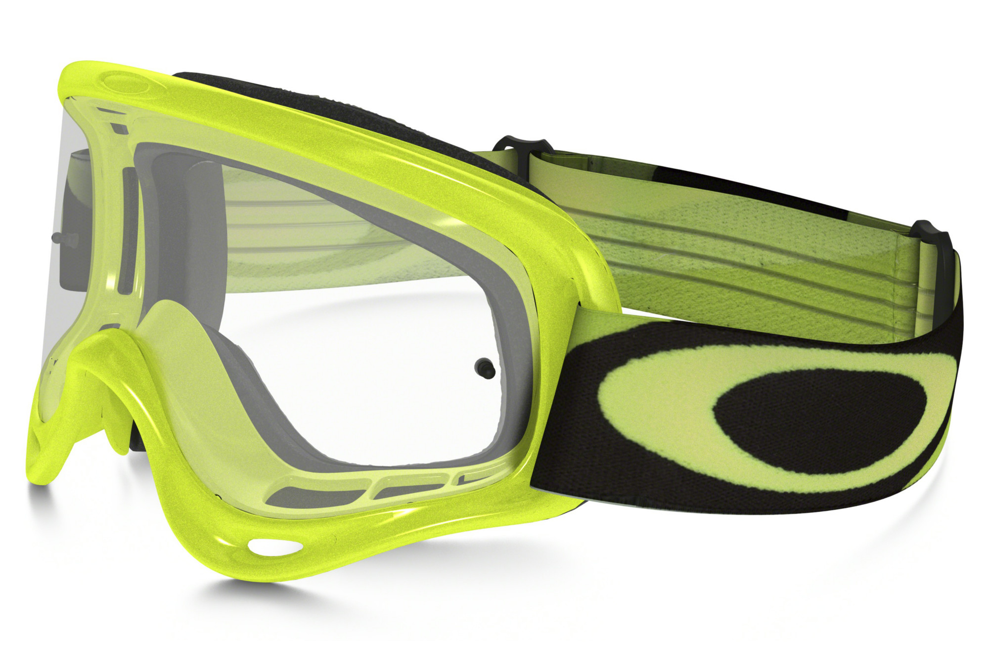 c65ac9f45a6 OAKLEY O FRAME MX HERITAGE RACER Goggle Youth Green Black ...
