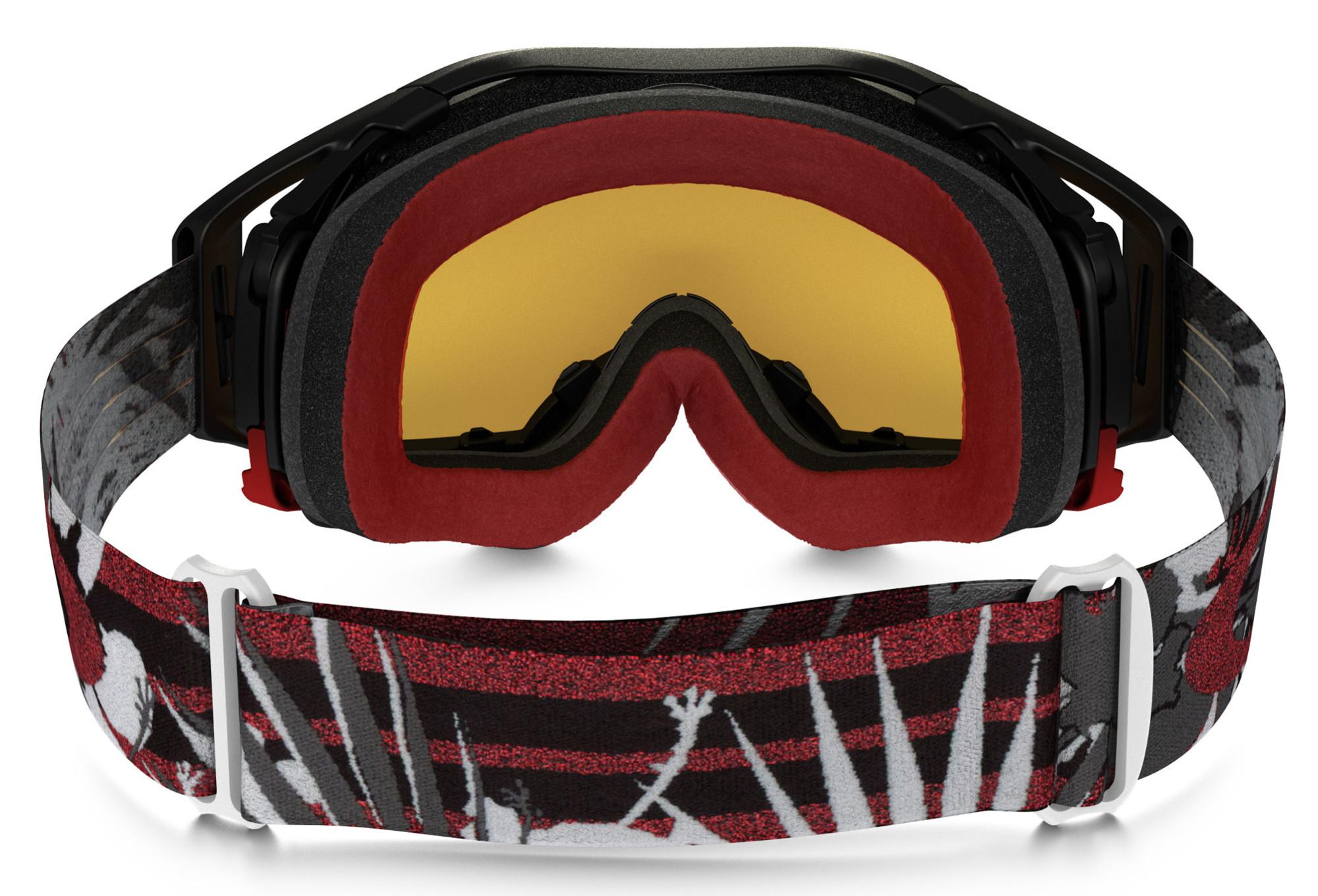 Oakley Airbrake Mx Kroc94 Goggle Grey Red Fire Iridium
