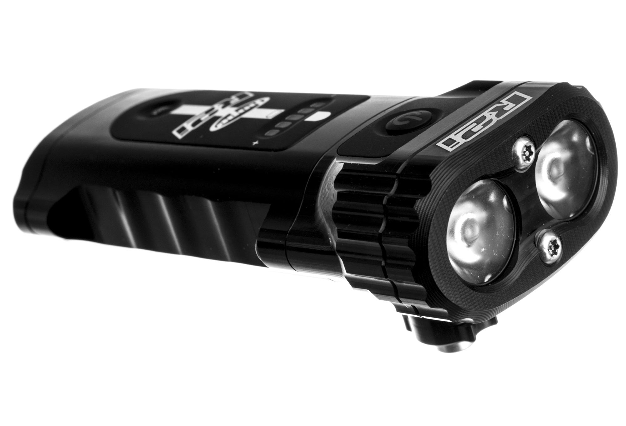 1x2 Cellules Lampe Hope Vision Batterie R2i Led Avant Noir bgfY76y