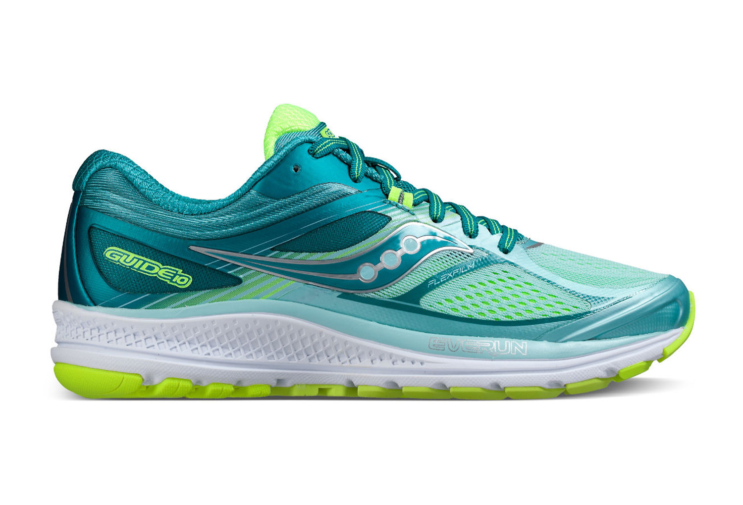55e16f8ea0d4 SAUCONY GUIDE 10 Shoes Women Blue Yellow