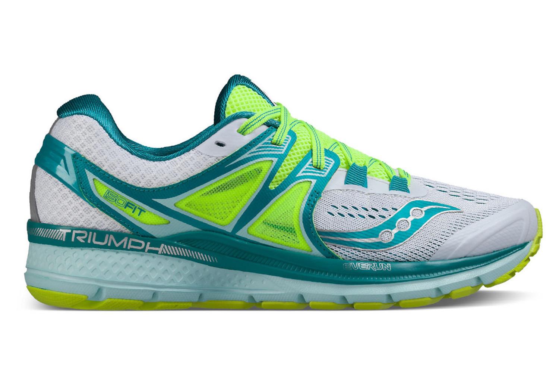 3de19ae4 SAUCONY Zapatos TRIUMPH ISO 3 Mujer Azul Blanco