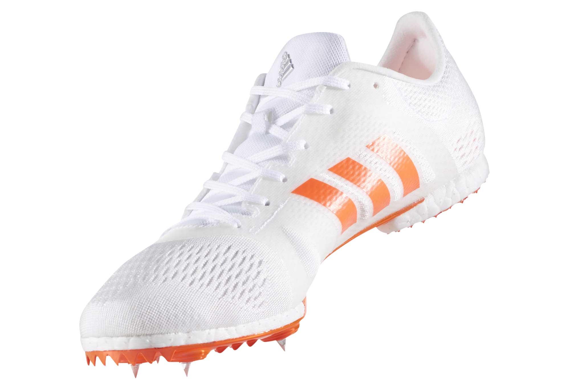 14896b8a4ee9 adidas running adizero MIDDLE-DISTANCE White Orange Men | Alltricks.com