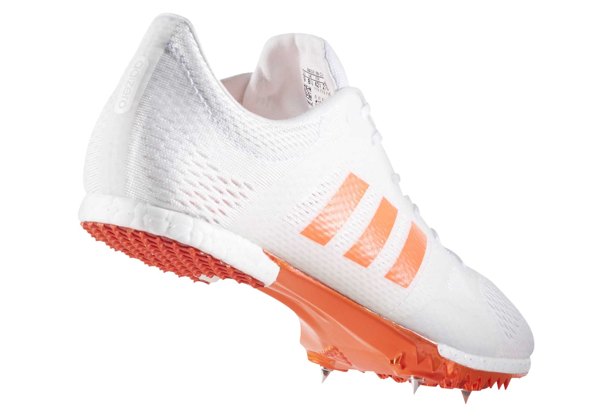 Adizero Blanc D'athlétisme Chaussures Middle Running Adidas Distance qfwx18T