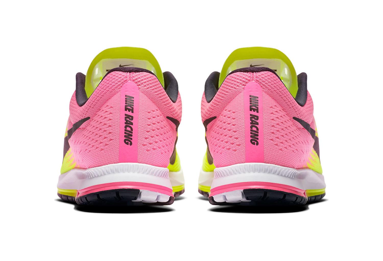 Chaussures d'Athlétisme Nike ZOOM STREAK 6 OC Jaune / Rose