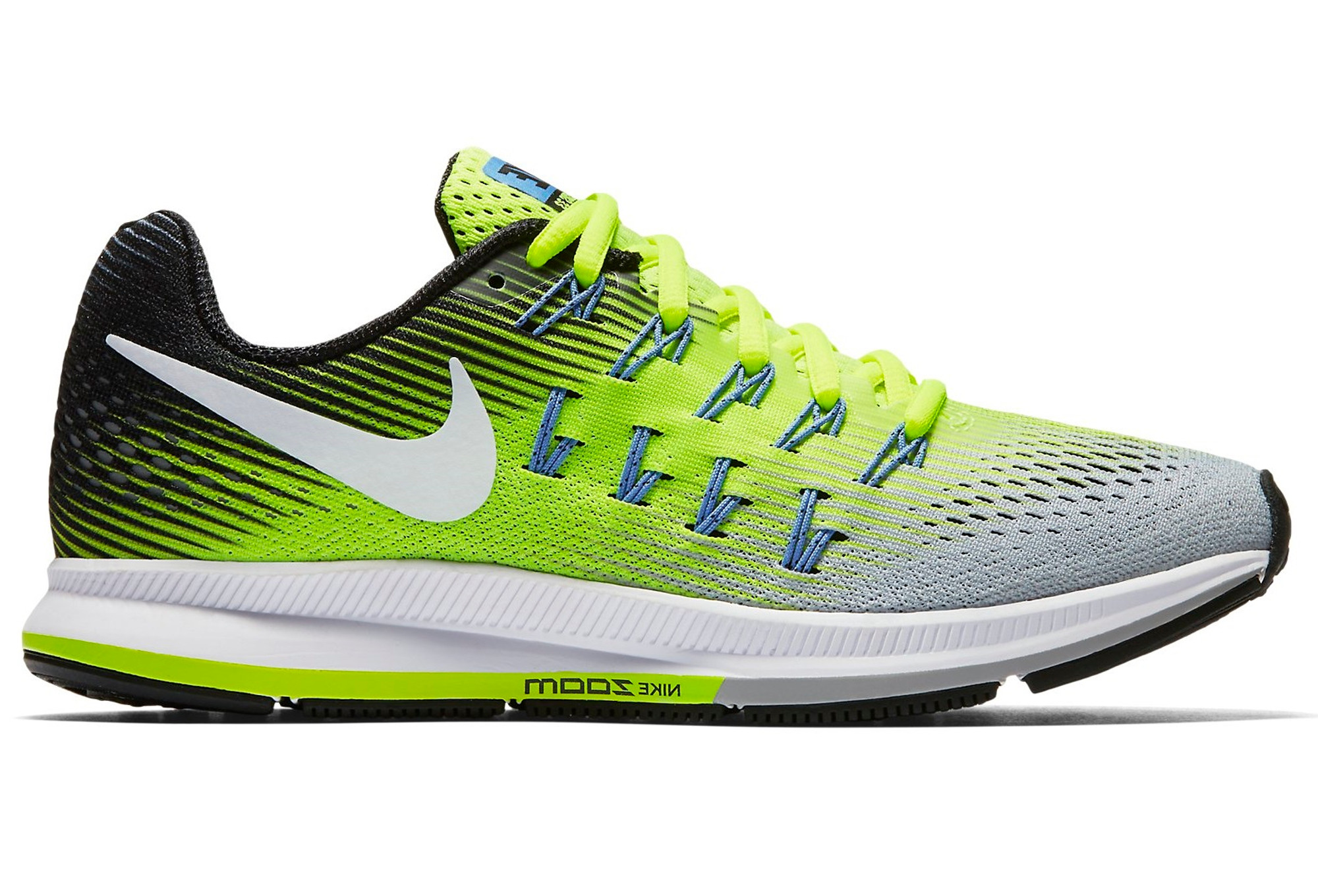 separation shoes a4a5e 0ad59 NIKE AIR ZOOM PEGASUS 33 White Yellow Men | Alltricks.com