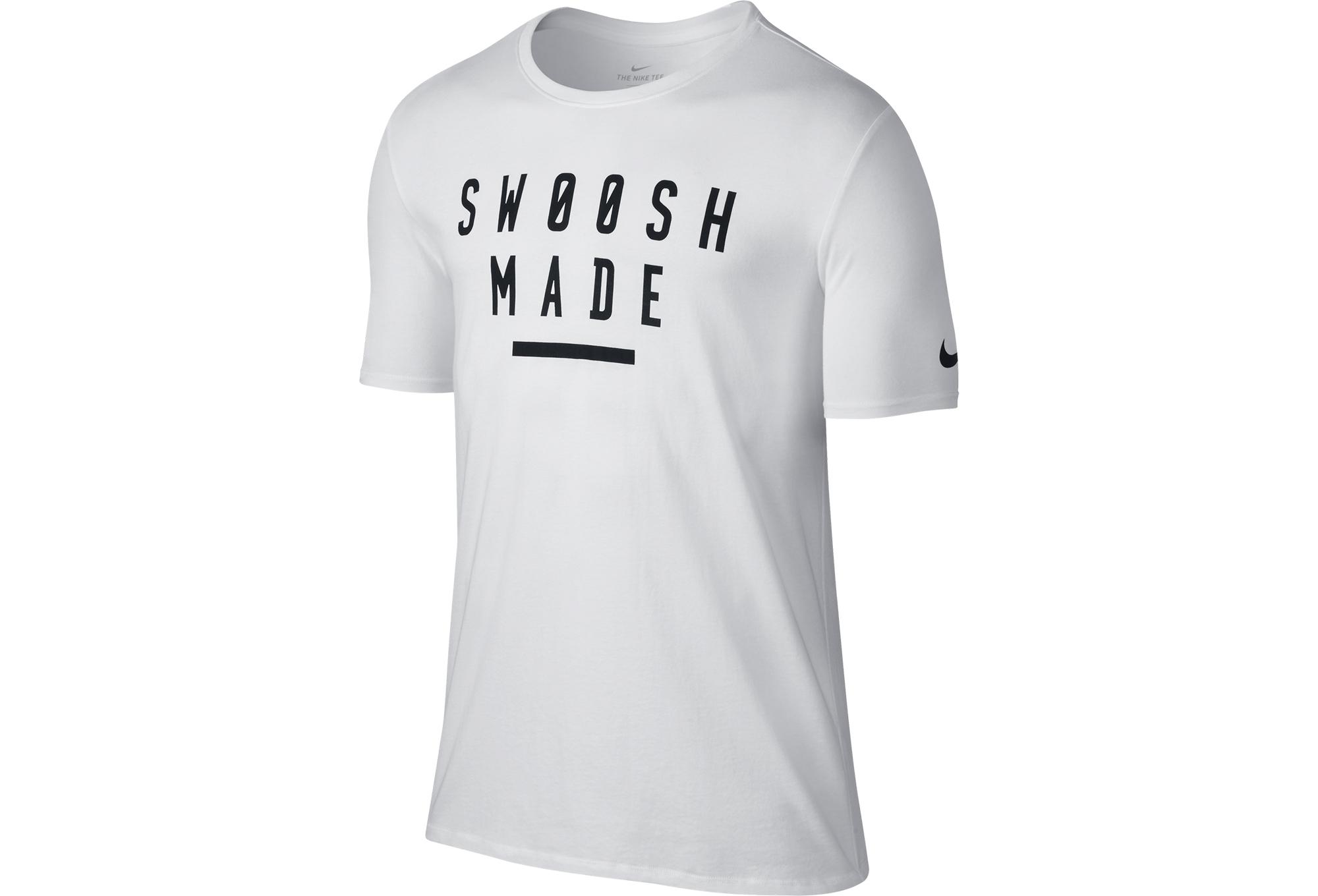 Nike Dry Swoosh Made T Shirt White