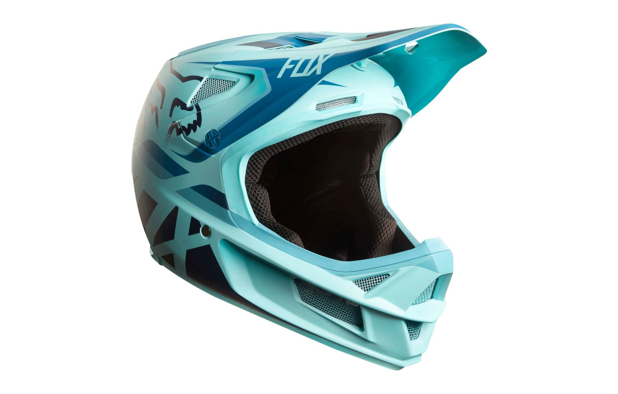 Fox Rampage Pro Carbon Seca Mips Full Face Helmet Blue  992efc7378