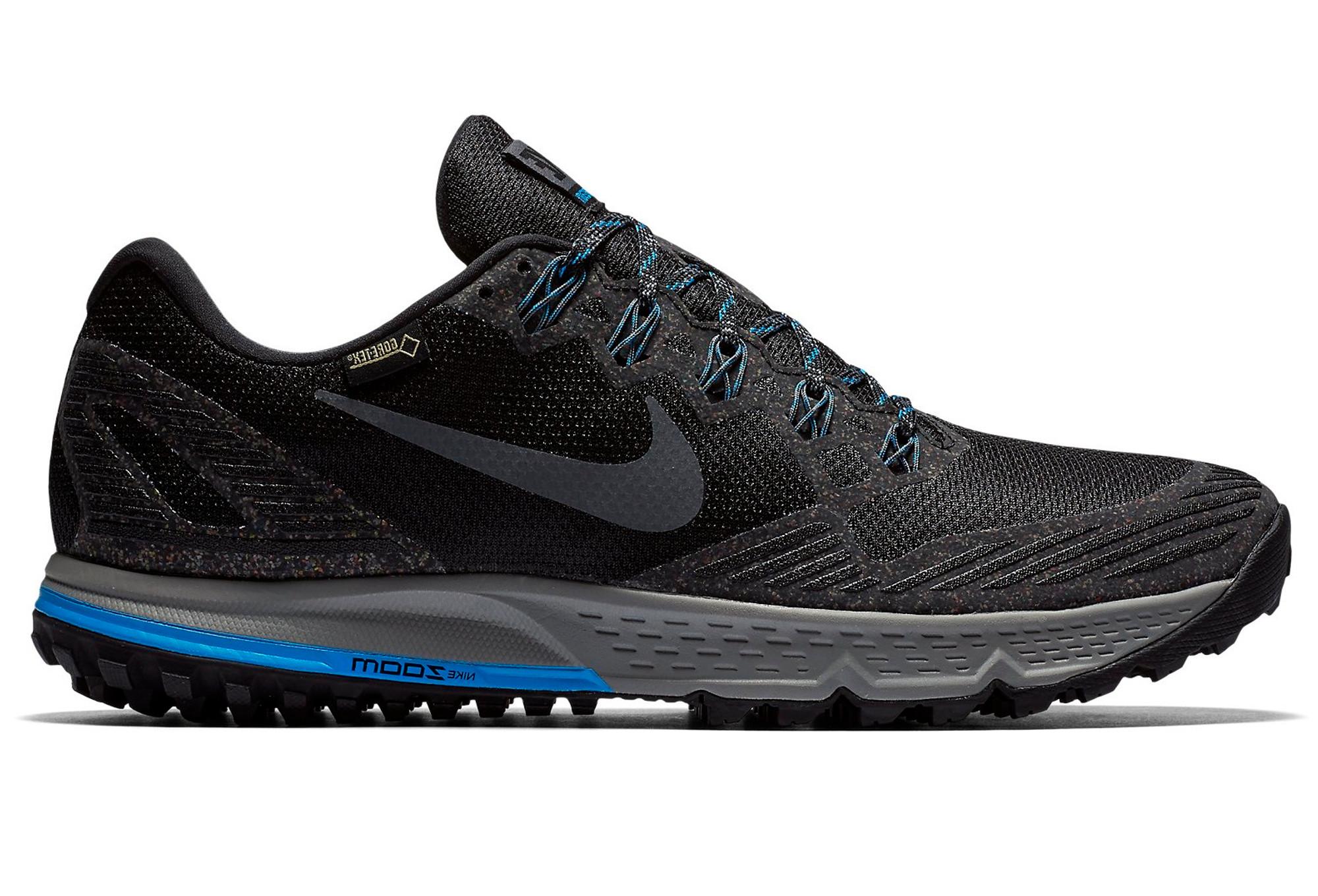 1574ed2bf20f8 NIKE Shoes AIR ZOOM WILDHORSE 3 GTX Black Grey Blue