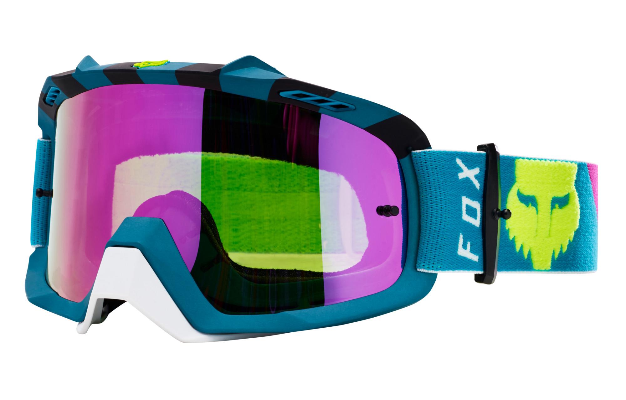 887f5e33d7 Fox Air Space Rhor Goggle Blue Frame Rosa Lente | Alltricks.es