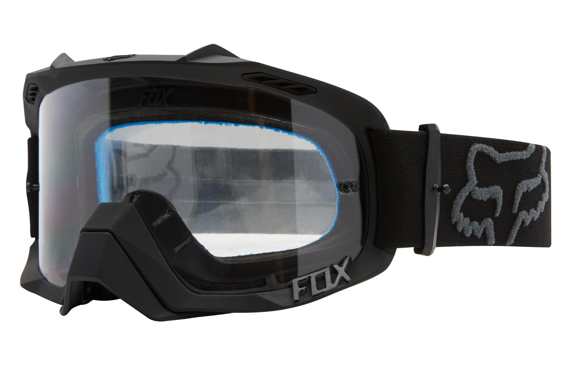 Ecran Defence Masque Transparent Fox Air Noir nvm80wN