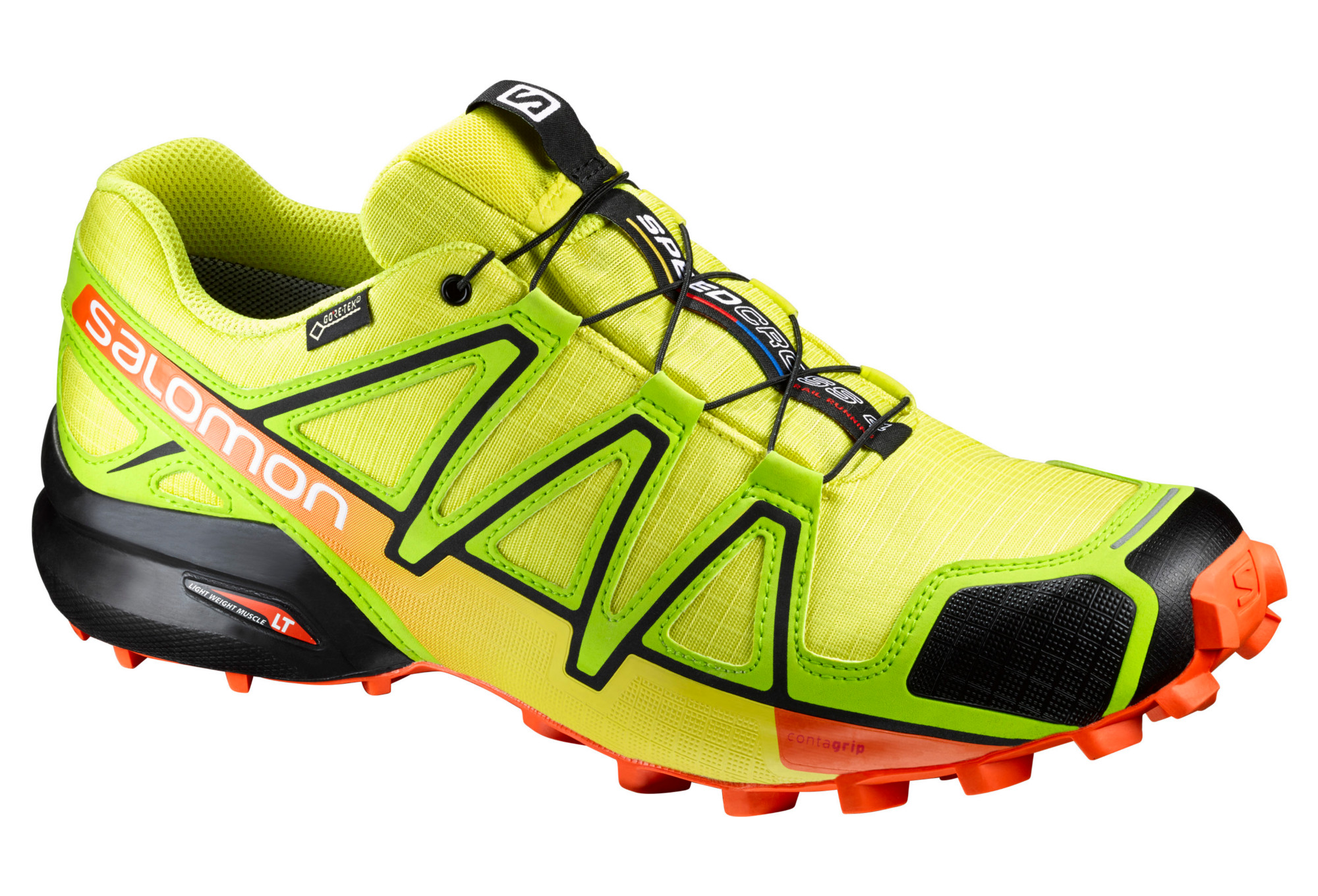 SALOMON Shoes SPEEDCROSS 4 GTX Yellow Orange