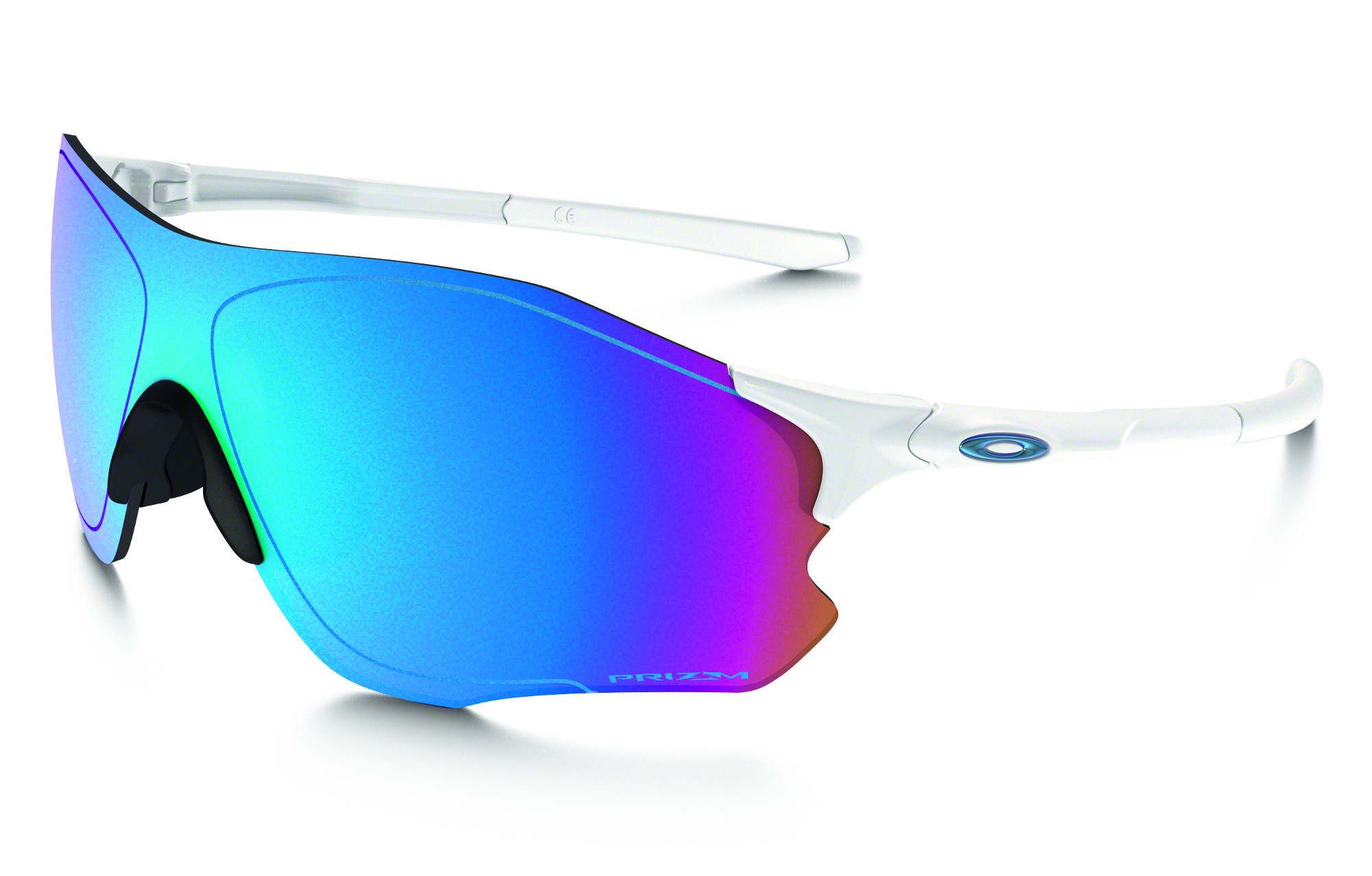 8239c2c232 Oakley EVZero Path Sunglasses White - Blue Prizm Snow Ref OO9308-1238