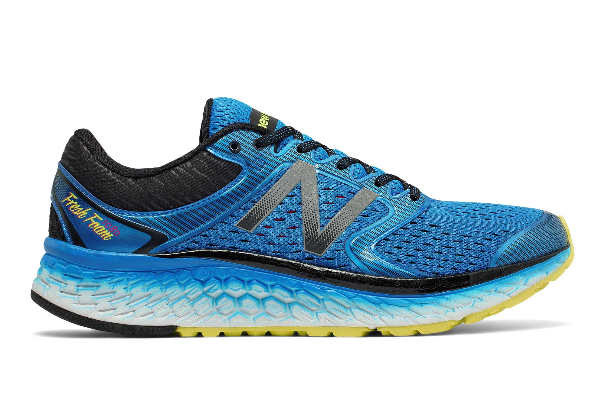 New Balance 1080 V7 amarillo