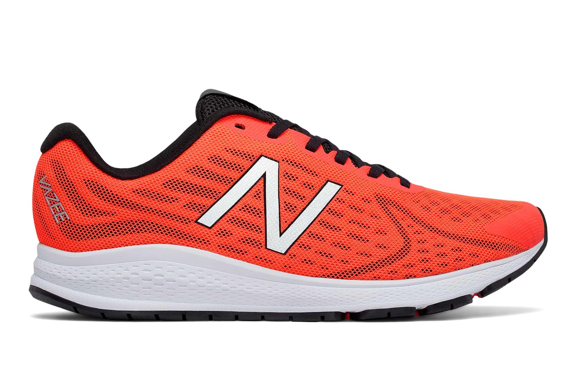 New Balance Men's Men's Vazee Rush V2 Orange Sneakers In Size 43 D Orange AuKSH3