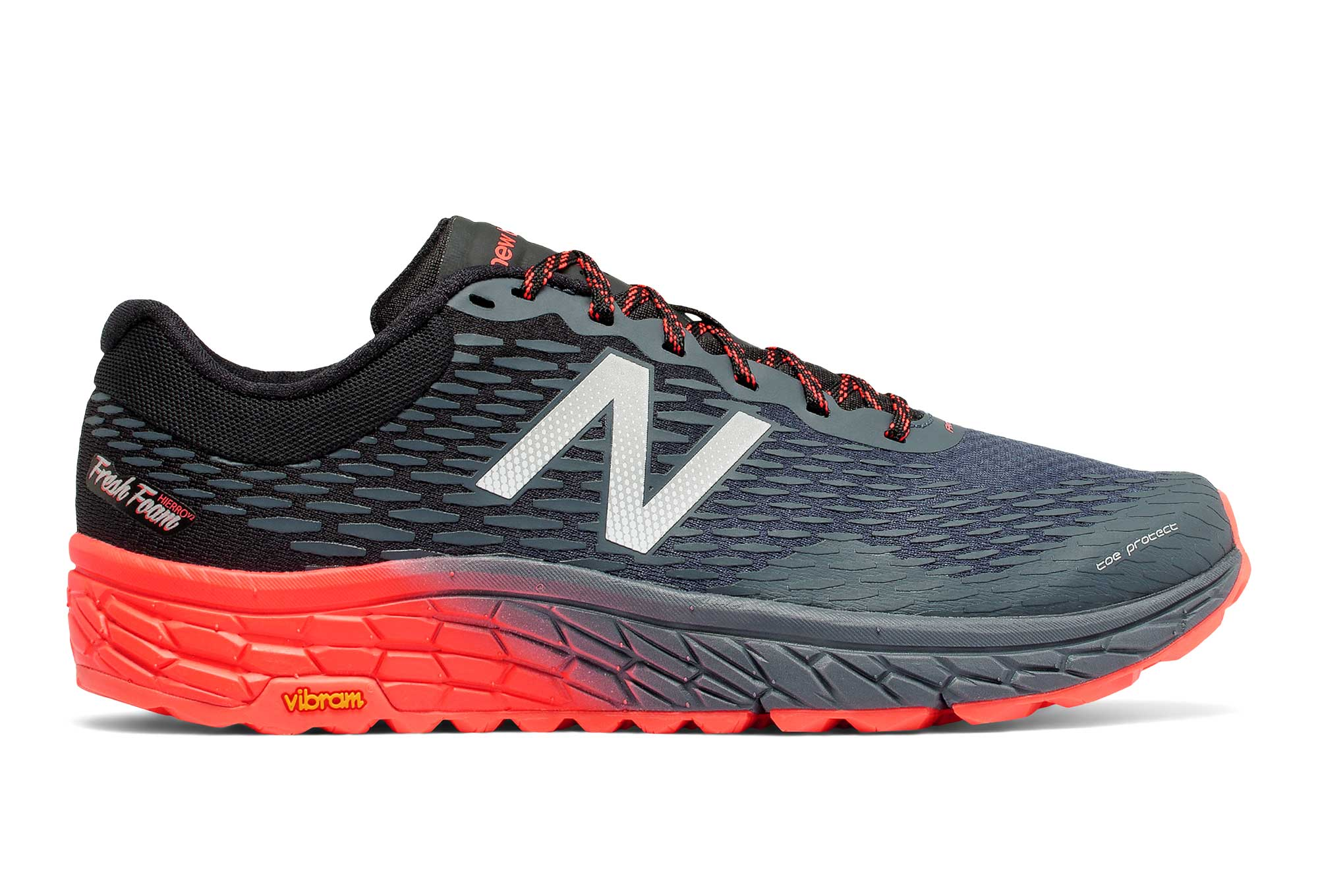 5ac6b6863dfdd NEW BALANCE HIERRO v2 Gris Orange   Alltricks.com