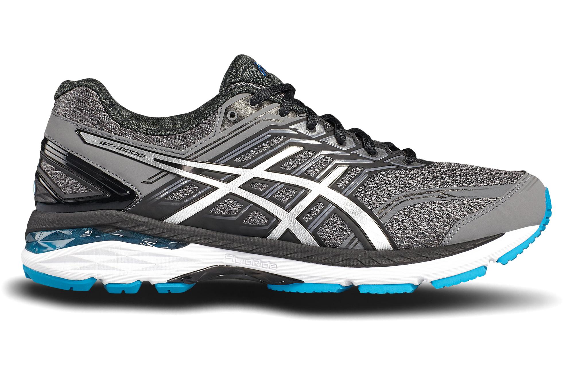 chaussures de running asics gt 2000 5 gris. Black Bedroom Furniture Sets. Home Design Ideas