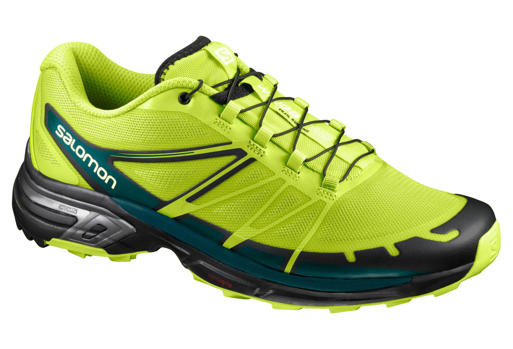 Chaussures 2 Wings Trail Salomon De Vert Pro wxFwfv