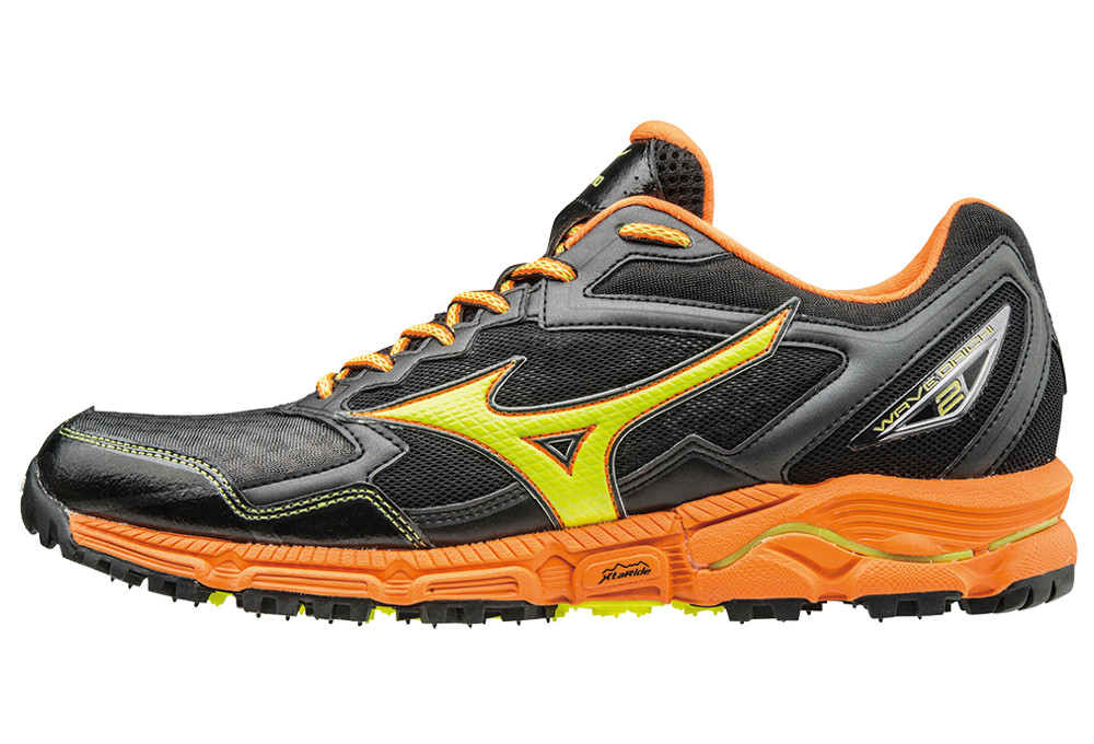 Wave 2 Trail Daichi De Orange Noir Mizuno Chaussures wTt4qv