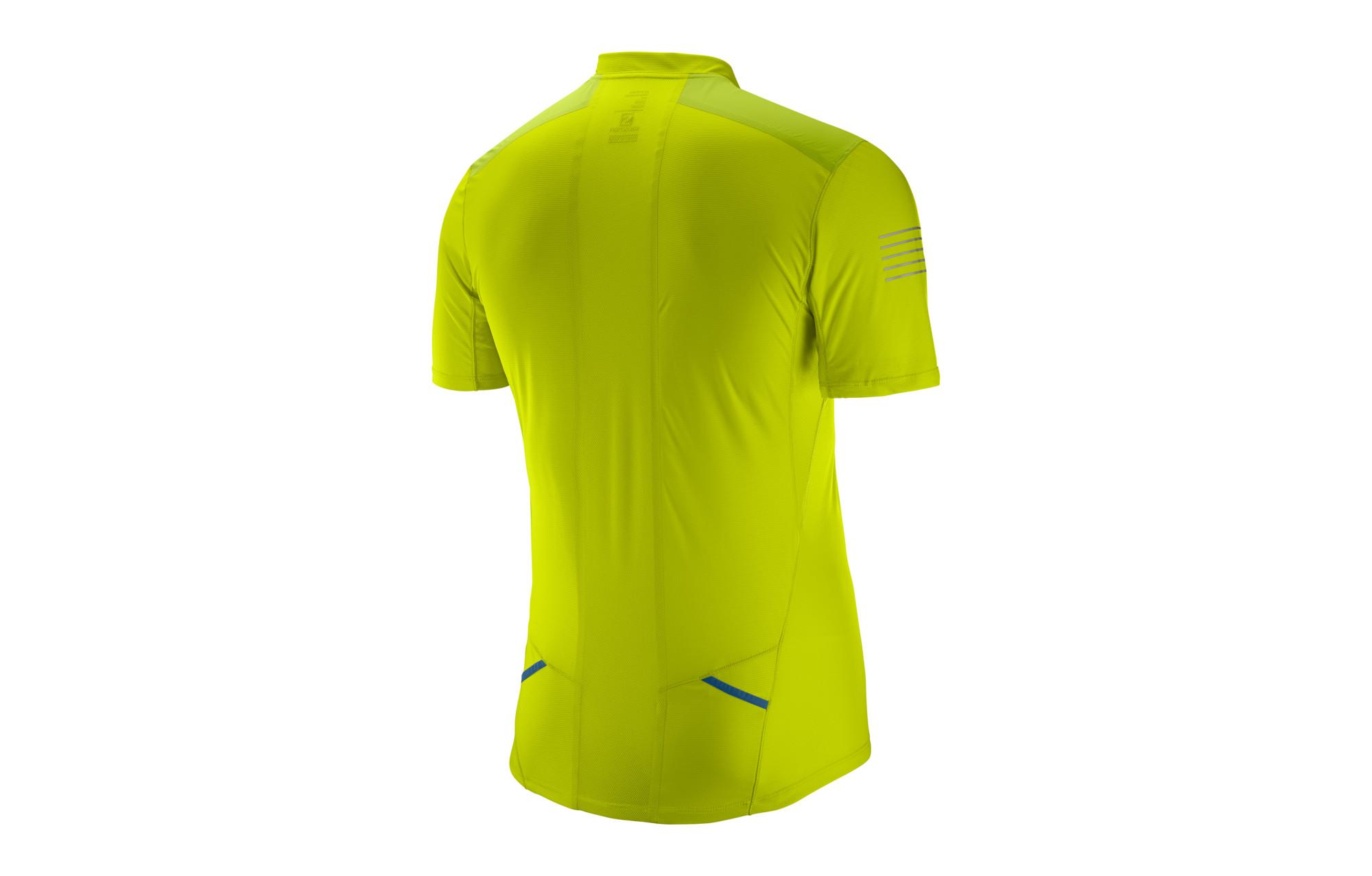 Salomon Jersey Short Sleeve Fast Wing Yellow  fa44986bffb99