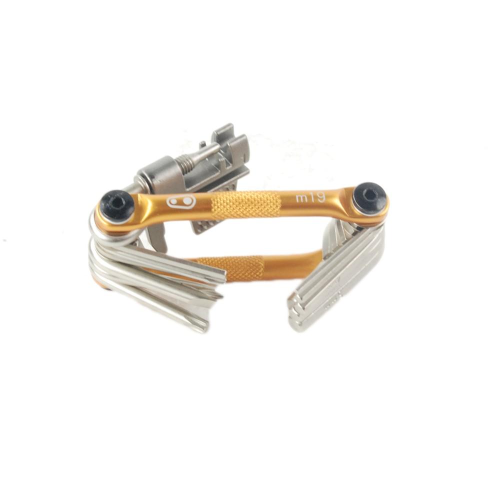 Compact Réparation Outil Paire Crank Brothers F-15 outil et vélo M19 multi outil