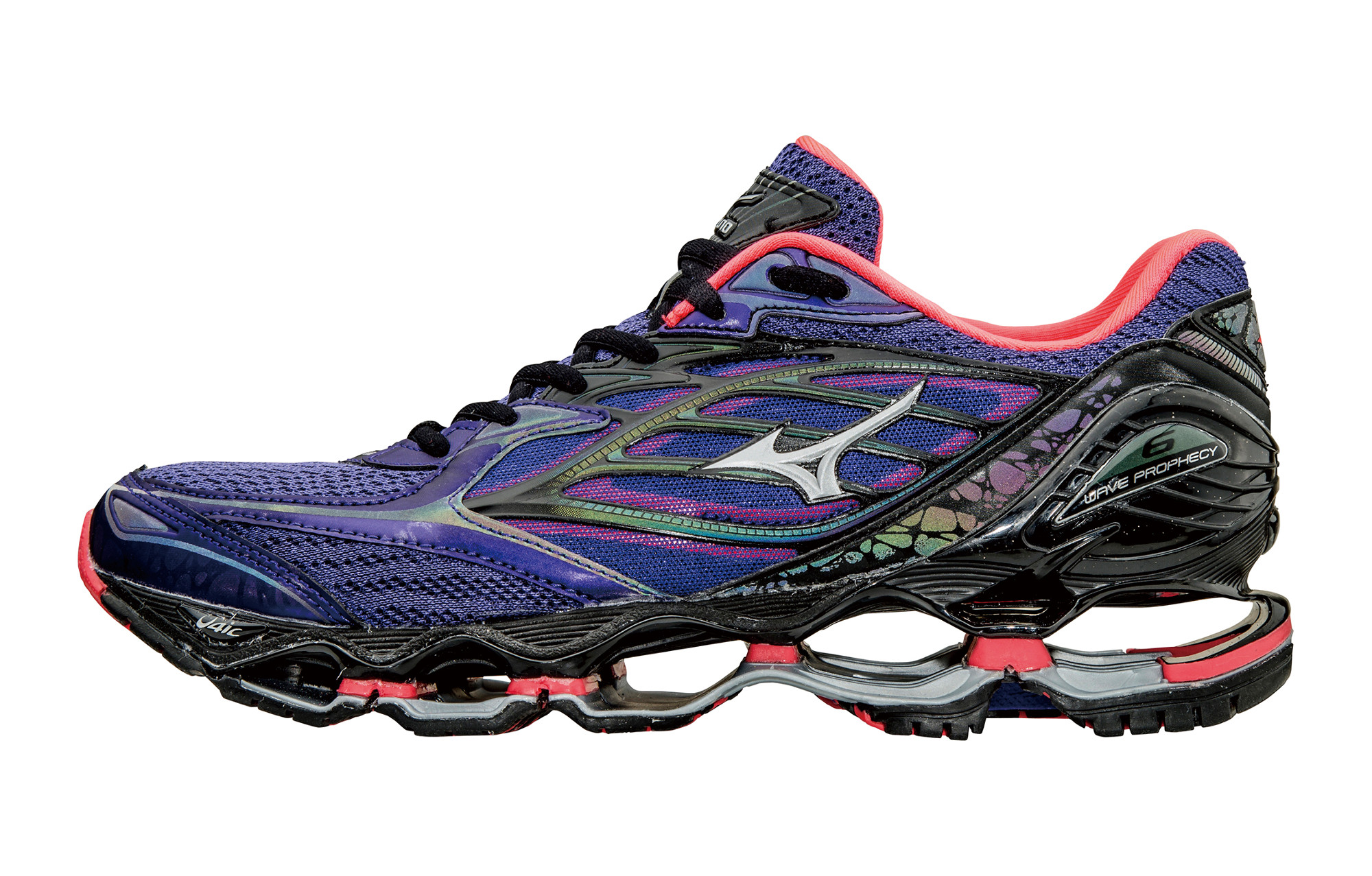Mizuno Wave Prophecy 6 Nova Purple Black Woman  0ccaa81ea
