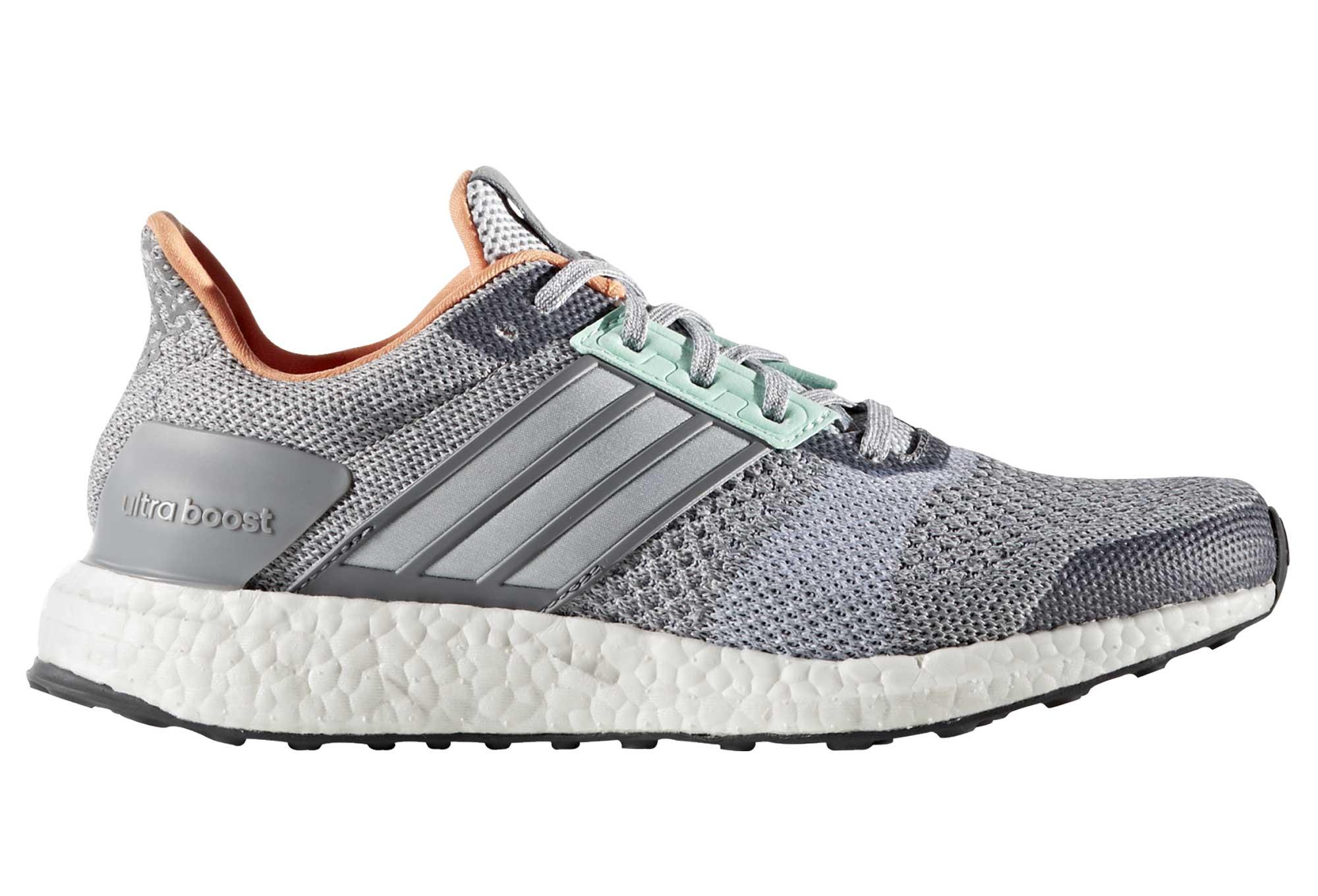 chaussures de running femme adidas running ultra boost st gris. Black Bedroom Furniture Sets. Home Design Ideas