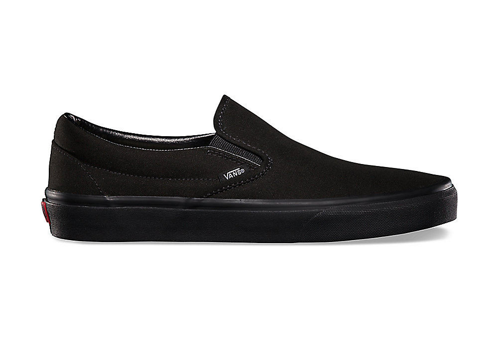 chaussures vans slip on noir. Black Bedroom Furniture Sets. Home Design Ideas