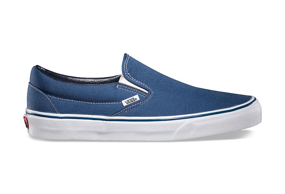 slip on bleu