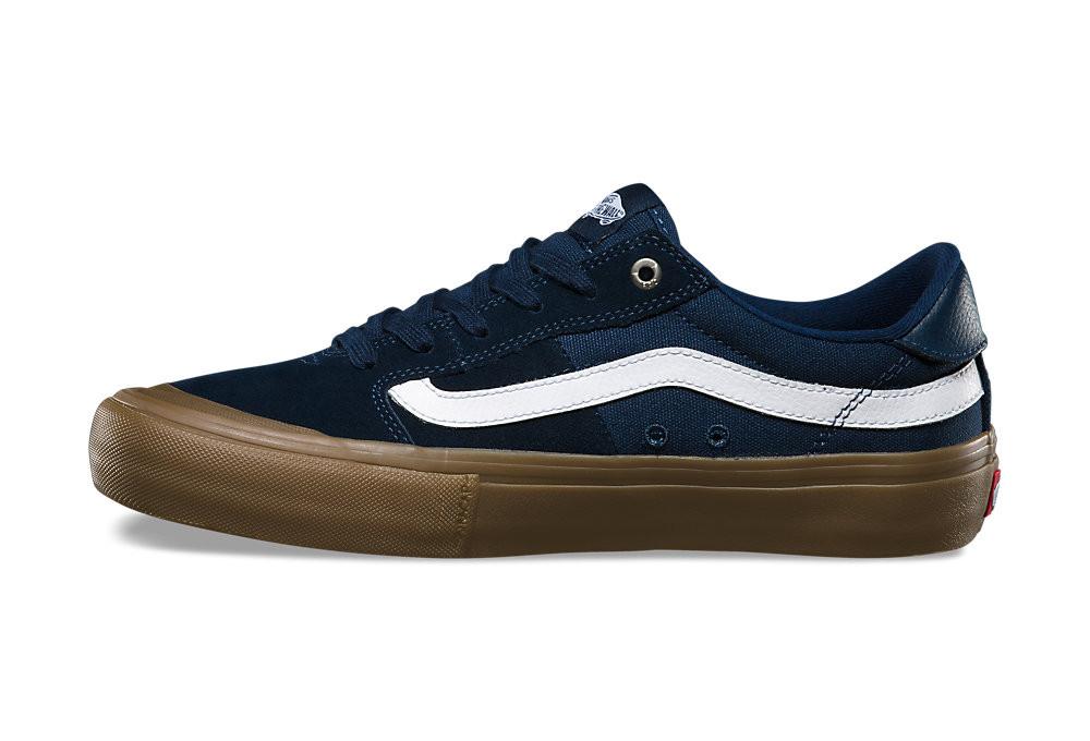 vans style 112 pro shoes blue brown alltrickscom