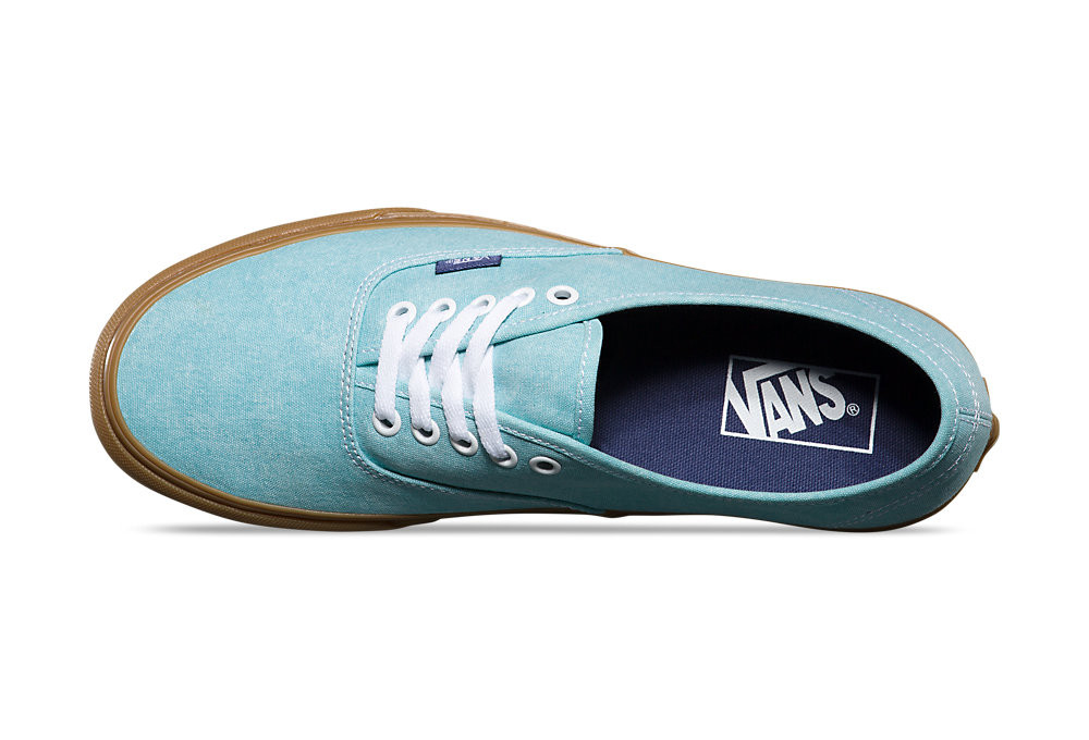 vans authentic shoes blue brown alltrickses