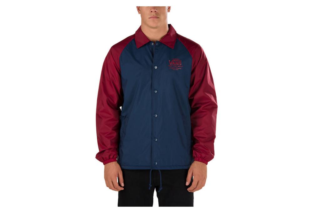 blue vans jacket