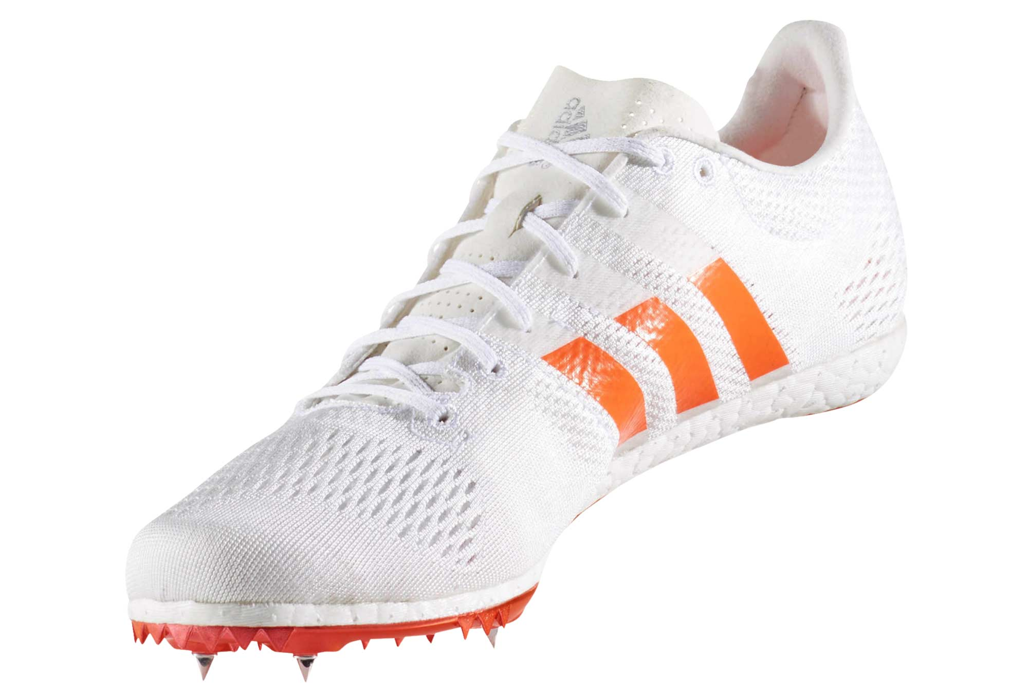 save off 63b1f 80762 Chaussures dAthlétisme adidas running Adizero Avanti Blanc  Orange