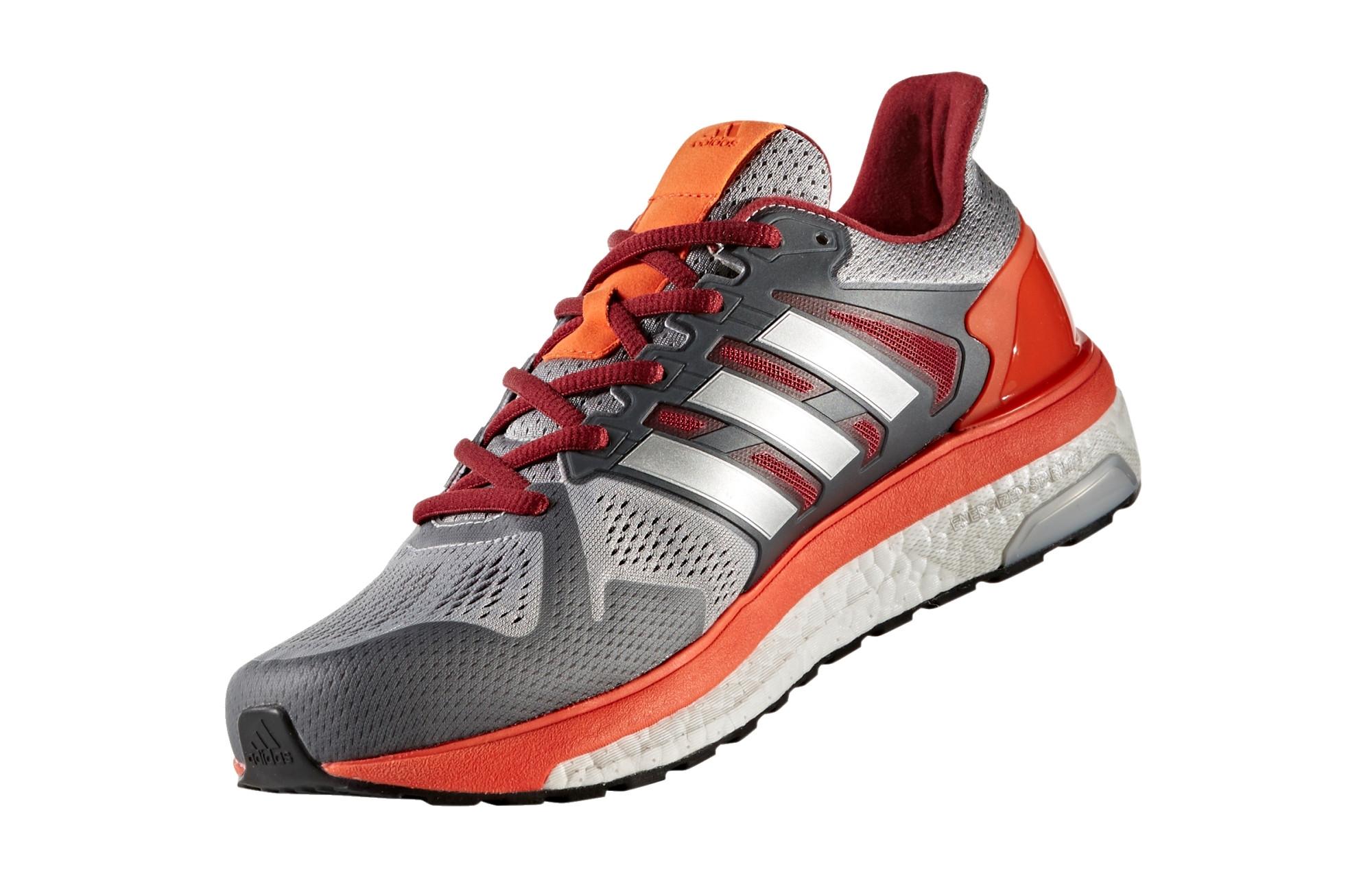 015d9ae69da94 Chaussures de Running adidas running Supernova ST Gris   Orange ...