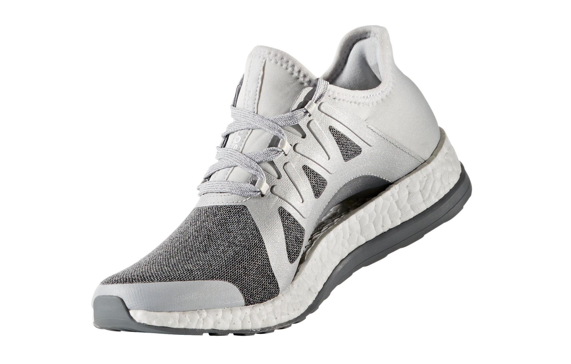 purchase cheap 9296c fb771 adidas running PURE BOOST XPOSE Grey Silver Women