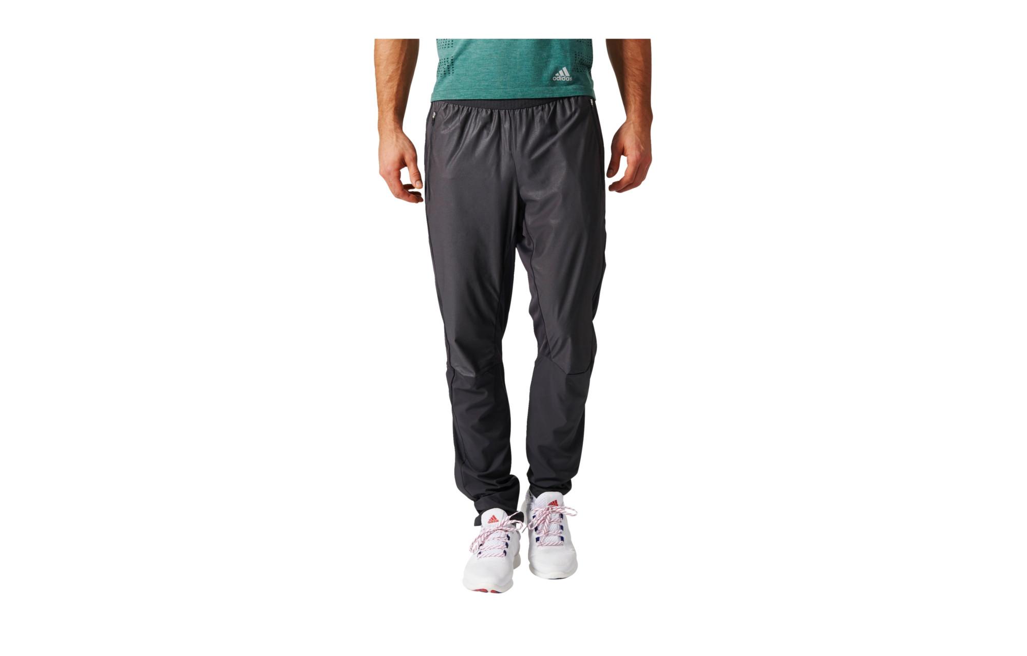 Noir Pantalon Running Imperméable Adidas Adizero Gris nymw08vNO